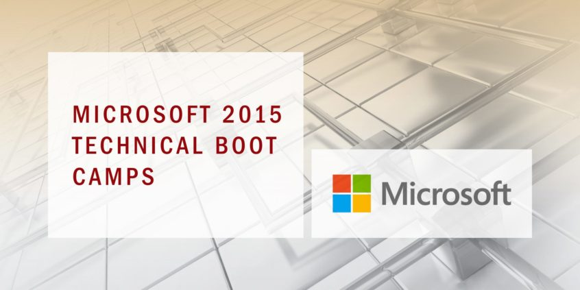 Microsoft Boot Camp 2015