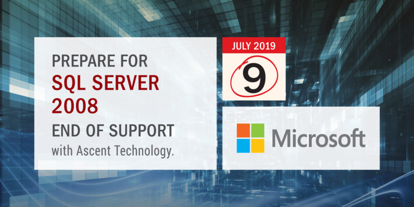 Prepare for SQL Server 2008 End of Support