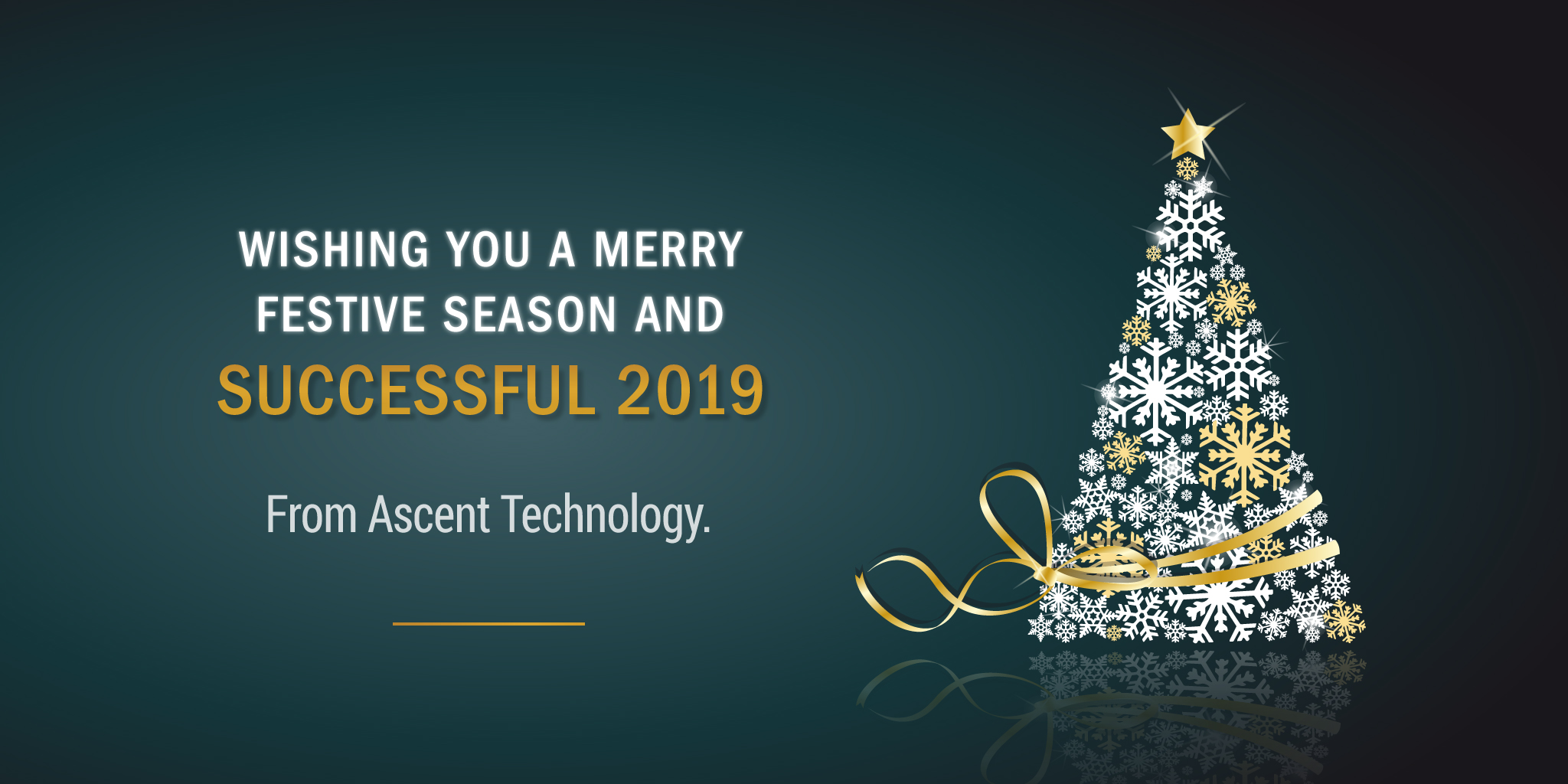 Seasons Greetings >> Season S Greetings From The Ascent Technology Team