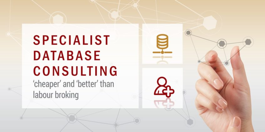 Specialist Database Consulting Cheaper and Better